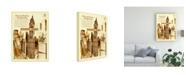 "Trademark Global Peter Potter New York Abstract Canvas Art - 36.5"" x 48"""