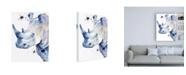 """Trademark Global Jennifer Paxton Parker Ultra Violet Safari II Canvas Art - 19.5"""" x 26"""""""