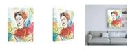 "Trademark Global June Erica Vess Portrait of Frida I Canvas Art - 19.5"" x 26"""