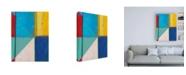 "Trademark Global Jodi Fuchs Colorful Geometrics II Canvas Art - 19.5"" x 26"""