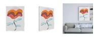 "Trademark Global Rob Delamater Mod Quirk V Canvas Art - 19.5"" x 26"""