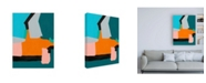 "Trademark Global Regina Moore Reunification III Canvas Art - 36.5"" x 48"""