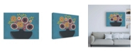 "Trademark Global Regina Moore Flowers Galore III Canvas Art - 19.5"" x 26"""