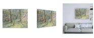 "Trademark Global Natasha Chabot Virginia Woods I Canvas Art - 19.5"" x 26"""