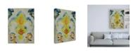 "Trademark Global Chariklia Zarris Bohemian Ikat II Canvas Art - 19.5"" x 26"""