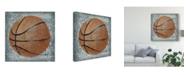 "Trademark Global Studio W Grunge Sporting I Canvas Art - 27"" x 33"""