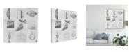 "Trademark Global Elena Ray Minimalism 9 Patch Canvas Art - 15"" x 20"""