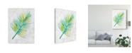 "Trademark Global Chariklia Zarris Ocean Side Palms IV Canvas Art - 15"" x 20"""