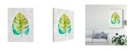 "Trademark Global Chariklia Zarris Ocean Side Palms VI Canvas Art - 20"" x 25"""