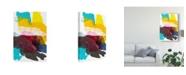 "Trademark Global Jodi Fuchs Paint Bloom IV Canvas Art - 15"" x 20"""