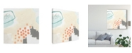 "Trademark Global June Erica Vess Chromatic Inference II Canvas Art - 27"" x 33"""