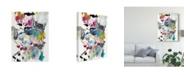 "Trademark Global Jodi Fuchs Symphony II Canvas Art - 15"" x 20"""