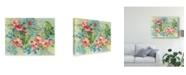 "Trademark Global Danhui Nai Hibiscus Garden Canvas Art - 20"" x 25"""