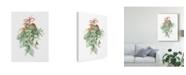"Trademark Global Danhui Nai Floursack Holiday XII Canvas Art - 20"" x 25"""