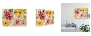 "Trademark Global Silvia Vassileva Floral Radiance Canvas Art - 20"" x 25"""