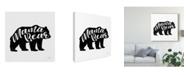 "Trademark Global Laura Marshall Mama Bear Canvas Art - 15"" x 20"""