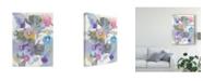 "Trademark Global Danhui Nai Jewel Garden I Canvas Art - 20"" x 25"""