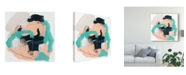 "Trademark Global June Erica Vess Torrent I Canvas Art - 20"" x 25"""