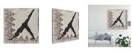 "Trademark Global Chariklia Zarris Yoga Bliss III Canvas Art - 15"" x 20"""