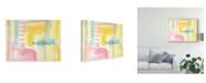 "Trademark Global Jennifer Goldberger Pastel Luxe I Canvas Art - 20"" x 25"""