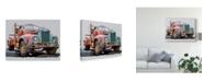 "Trademark Global Emily Kalina Powerful Truck I Canvas Art - 15"" x 20"""