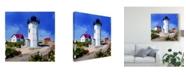 """Trademark Global Emily Kalina Lighthouse Scene III Canvas Art - 15"""" x 20"""""""