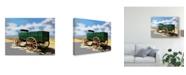 "Trademark Global Emily Kalina Bold Wagon I Canvas Art - 20"" x 25"""