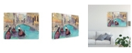 "Trademark Global Samuel Dixon Venice Plein Air V Canvas Art - 15"" x 20"""