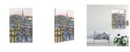 "Trademark Global Melissa Wang City Scene IX Canvas Art - 20"" x 25"""