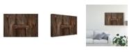 "Trademark Global Christine Sainte-Laudy Wood and Rust Canvas Art - 15"" x 20"""