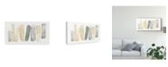 "Trademark Global June Erica Vess Neutral Sentry II Canvas Art - 15"" x 20"""