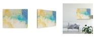 "Trademark Global Sue Jachimiec Blue Lux I Canvas Art - 37"" x 49"""