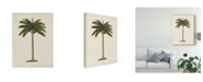 "Trademark Global Naomi Mccavitt British Palms IV Canvas Art - 20"" x 25"""