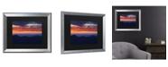 """Trademark Global Pierre Leclerc Mount Mitchell Sunset Matted Framed Art - 20"""" x 25"""""""