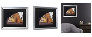 """Trademark Global Pat Saunders-White Farley Matted Framed Art - 20"""" x 25"""""""