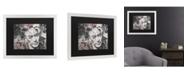"Trademark Global Ines Kouidis Armas De Mujer Matted Framed Art - 20"" x 25"""