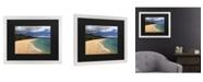 "Trademark Global Pierre Leclerc Makena Maui Matted Framed Art - 20"" x 25"""