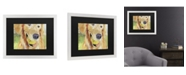 """Trademark Global Pat Saunders-White Gus Matted Framed Art - 20"""" x 25"""""""