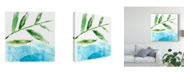 "Trademark Global Jennifer Goldberger Tropical Display IX Canvas Art - 20"" x 25"""