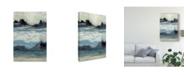 "Trademark Global Jennifer Goldberger Peaceful Mountain II Canvas Art - 20"" x 25"""