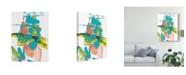 "Trademark Global Joyce Combs Happy Thoughts I Canvas Art - 37"" x 49"""