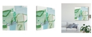 "Trademark Global Christina Long Olive I Canvas Art - 15"" x 20"""