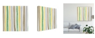"Trademark Global Renee W. Stramel Color Contact I Canvas Art - 20"" x 25"""