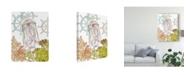 "Trademark Global Melissa Wang Undersea Creatures III Canvas Art - 20"" x 25"""