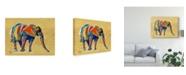"Trademark Global Linzi Lynn I Sunflower Canvas Art - 20"" x 25"""
