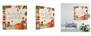 "Trademark Global Katie Pertiet Fall Garden II Canvas Art - 15"" x 20"""