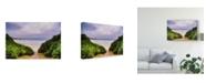 "Trademark Global Pixie Pics Sand Under Clouds III Canvas Art - 20"" x 25"""