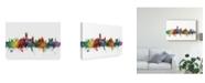 "Trademark Global Michael Tompsett Canterbury England Skyline II Canvas Art - 20"" x 25"""