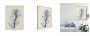 "Trademark Global Vision Studio Indigo Coral V Canvas Art - 15"" x 20"""