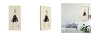 "Trademark Global Melissa Wang Fashion Glimpse V Canvas Art - 15"" x 20"""